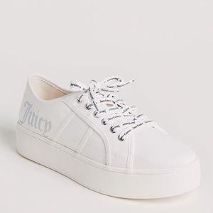Juicy Couture Bouncy Platform Sneakers White/9/NWT